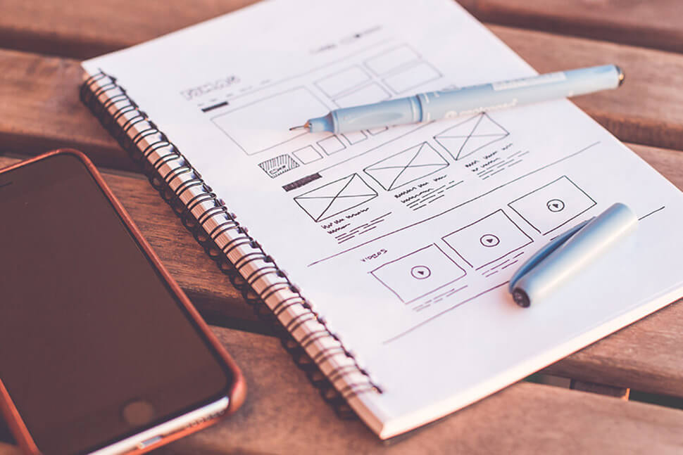 creating wireframe is first step in mobile app development